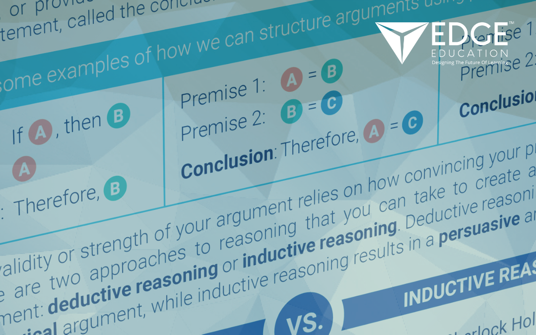 Structuring an argument – Infographic